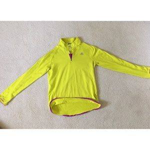 Adidas Clima Warm running quarter zip